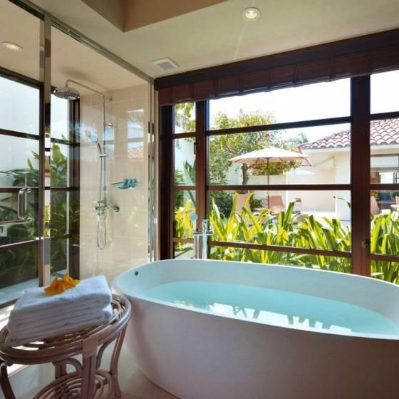 Okinawa Villas Bathtub Terrazzo