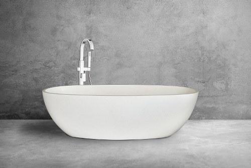 Oval Bali Freestanding Terrazzo Bathtub