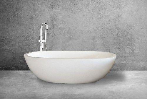 Oval Elegant Terrazzo Bathtub Wimarl