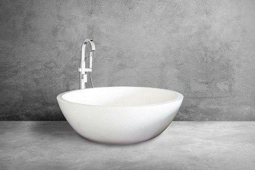 Round Terrazzo Bathtub Wimarl