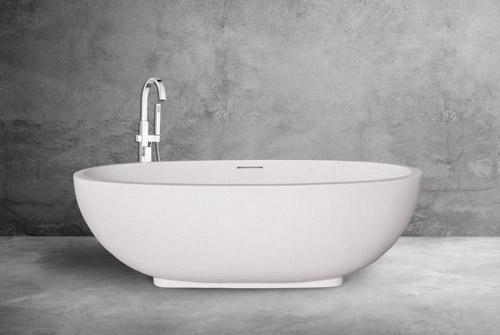Oval Bathtub Terrazzo Bali
