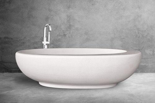 Bali Terrazzo Bathtub Minimalist