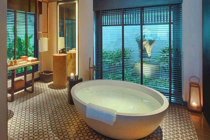 Terrazzo Bathtub Bali Indonesia